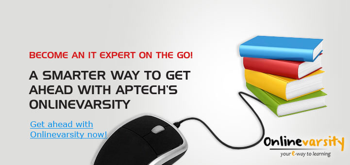 A smarter way to get ahead with Aptech's Onlinevarsity