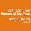 Aptech selected as a finalist for the Microsoft Learning Partner of the Year Award 2014